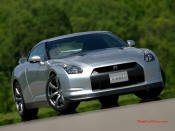 2008 Nissan GT-R - the brand new 3.8-liter twin turbo V6 VR38DETT engine is specially developed for the Nissan GT-R. It produces  473 bhp at 6400rpm and maximum torque of 434 lb/ft from 3200 to 5200rpm. This makes the Nissan GT-R one of the most powerful Japanese road cars and the most powerful production car ever built by Nissan.