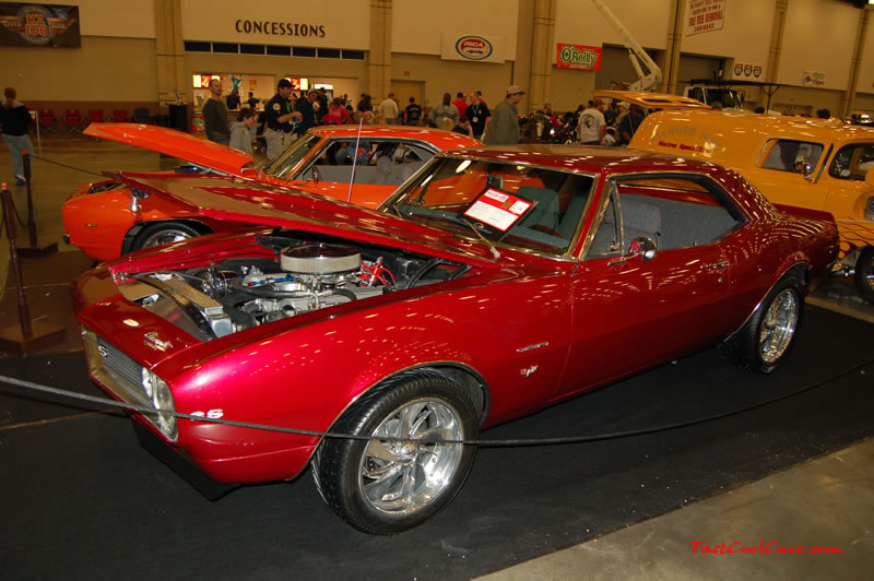 The 2009 World of Wheels Show in Chattanooga, Tennessee. On Jan. 9th,10, & 11th, Pictures by Ron Landry. Chevrolet Camaro SS with a Big Block.