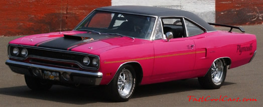 1970 Moulin Rouge Plymouth Roadrunner 4404 4 speed one fast cool