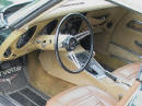 1973 Chevrolet Corvette drivers door interior view