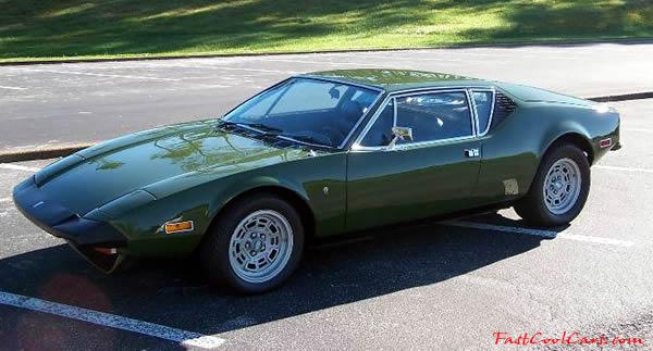 DeTomaso Pantera L Very Rare Fast Cool Car - Cool cars green
