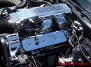 1987 Chevrolet Corvette - With highly polished aluminum intake and other parts.