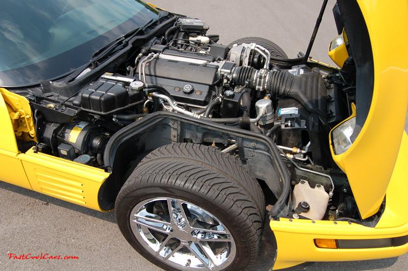 1994 Corvette Coupe 6 speed - Chrome C6 Z06 Wheels