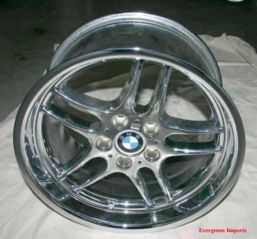 19 M Parallel Chrome Rims For My BMW 740iL