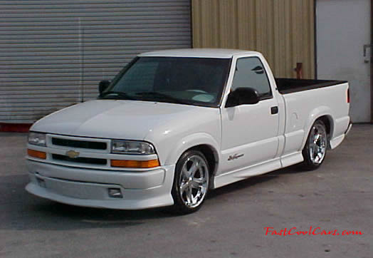 1999 Chevy Extreme S10  Fast Cool Cars  low rider  chrome