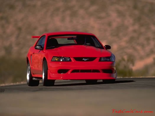 2000 Ford SVT Mustang Cobra R - it looks very fast