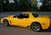 2002 Millennium Yellow supercharged & methanol injected Z06 Corvette, with many modifications, over 50 grand invested in the past 2+ years, for sale $38,000 what a deal.