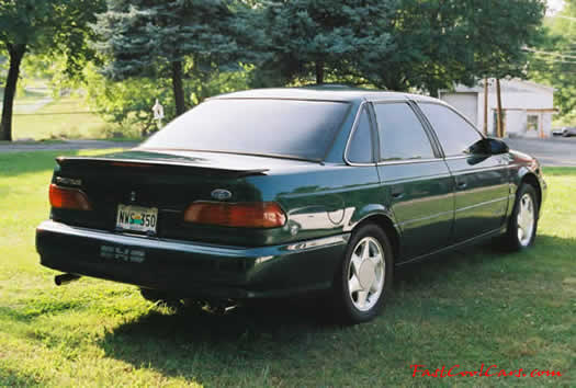 1993 Taurus SHO - dual exhaust - luxury sport family sedan - fast cool car