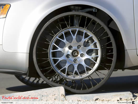 Fast Cool Cars Airless Tires The Tweel Michelin