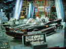 The Original Batmobile from the series in 1966-68 TV series Inside the bat cave