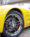 C5 Chevrolet Z06 Corvette 2001 - 2004, 385 to 405 horsepower, Aluminum block and heads LS6, all with 6 speeds.  America's sport car in Millennium Yellow.