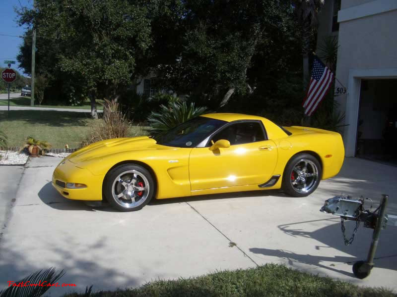 C5 Z06, Z16 Chevrolet Corvettes - 385 - 405 horsepower stock