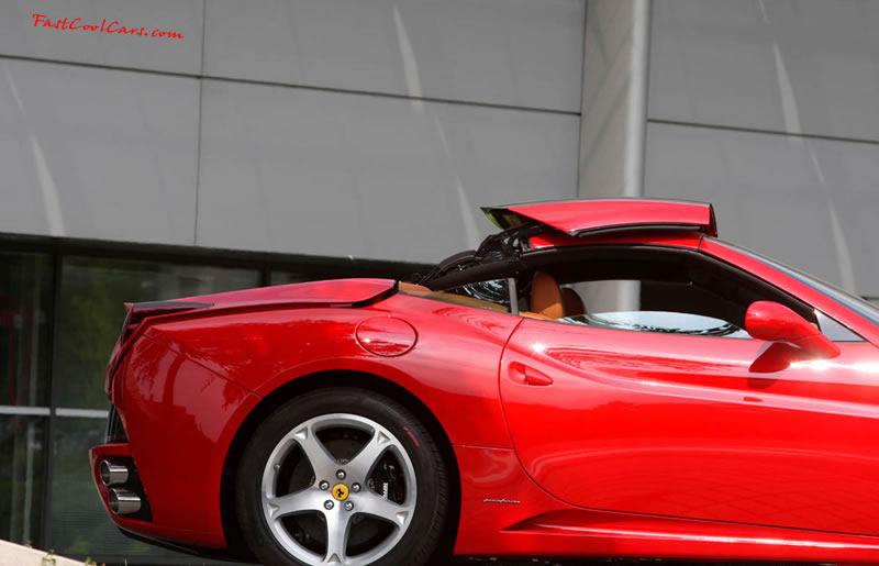 Ferrari California Hardtop Convertible One Fast Cool Car