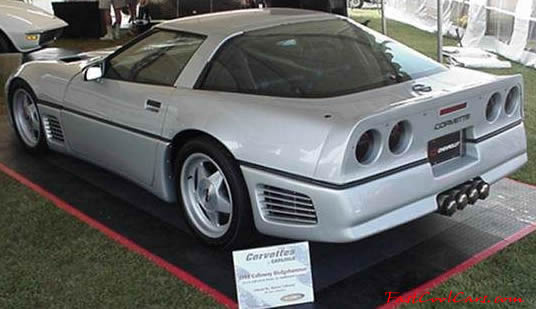 1988 Callaway Sledgehammer Corvette - coolest C4 ever? - Corvette ...