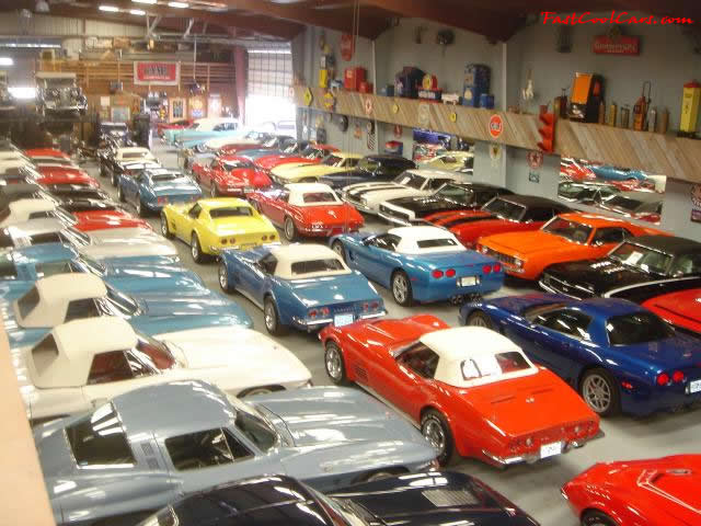 Huge Gm Vehicle Collection Corvettes Camaros Fast Cool
