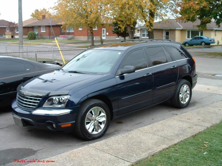 2004 Chrysler Pacifica Black 2004 Chrysler Pacifica Black
