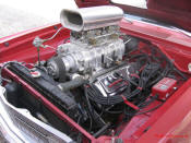 1969 Dodge Dart Hemi. Blown V8