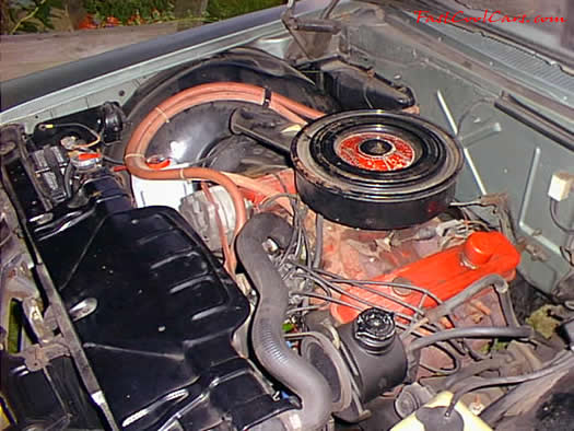 1966 Buick Lesaber engine picture