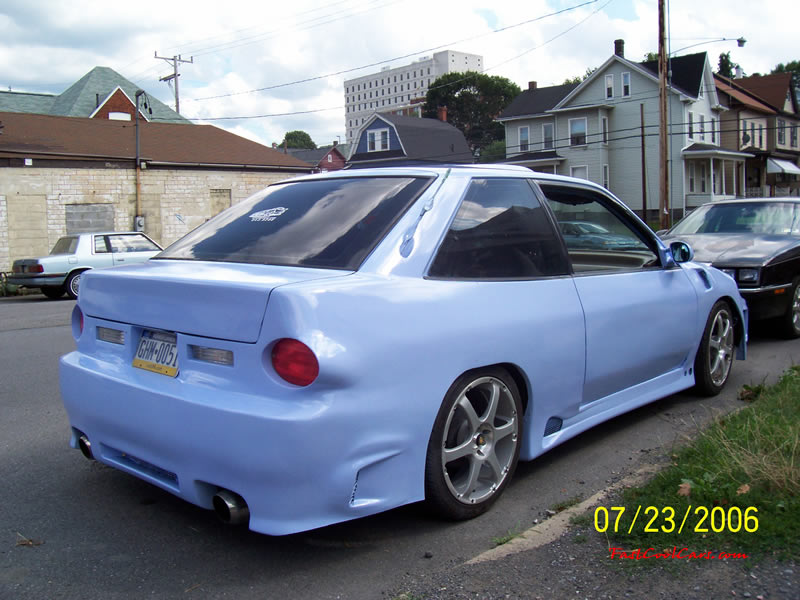 Body kit for a 1992 ford escort