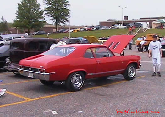 1971 Chevy Nova, many modifications.