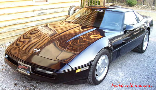 My First Corvette, a 1989 6 speed Vette, the first year of the 6 speeds, and it had the FX3 adjustable suspension, divorce caused having to get rid of it.