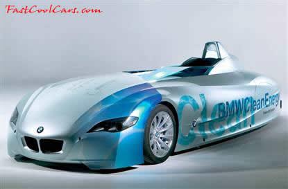 Hydrogen Powered BMW 6 liter 12 cylinder 188 MPH cool vehicle