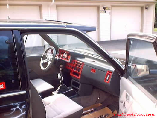 1986 Mazda B series - Nicknamed 'B2K', NOS, Chevy 350/ Stroked 383 new interior look