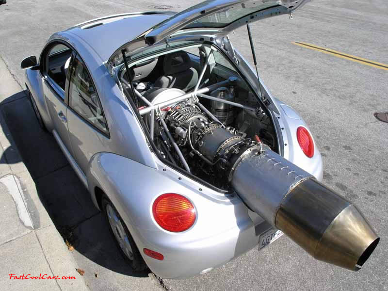 The Beetle Was Chosen Because It Looks Cool With Jet And Shows Off