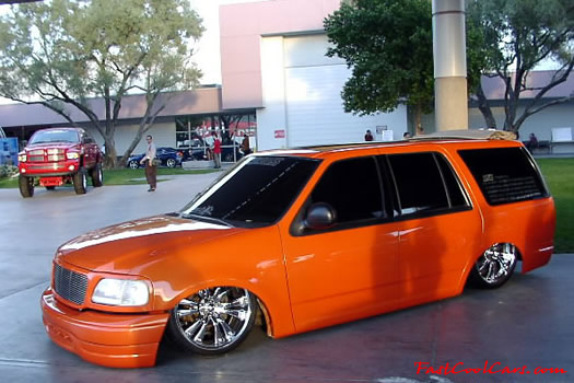 Lowrider Blazer That Has Been Lowered Dropped Slammed And Scraping Using Many