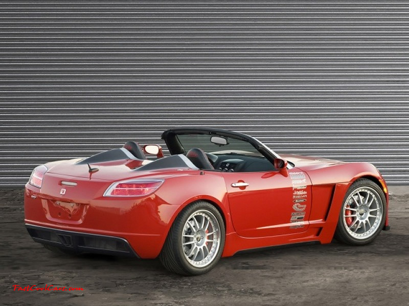 The Saturn Sky Is First Ever Sports Car From Marque Of American Automaker