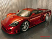 6th Fastest Car in the World is the Saleen S7 Twin Turbo, top speed of 248 mph
