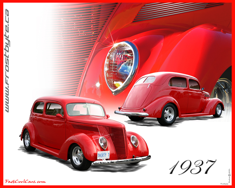 classic 1937 cars wallpapers yellow
