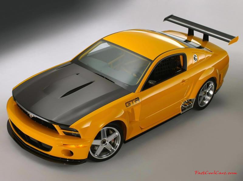 mustang gt wallpaper. GTR Mustang left