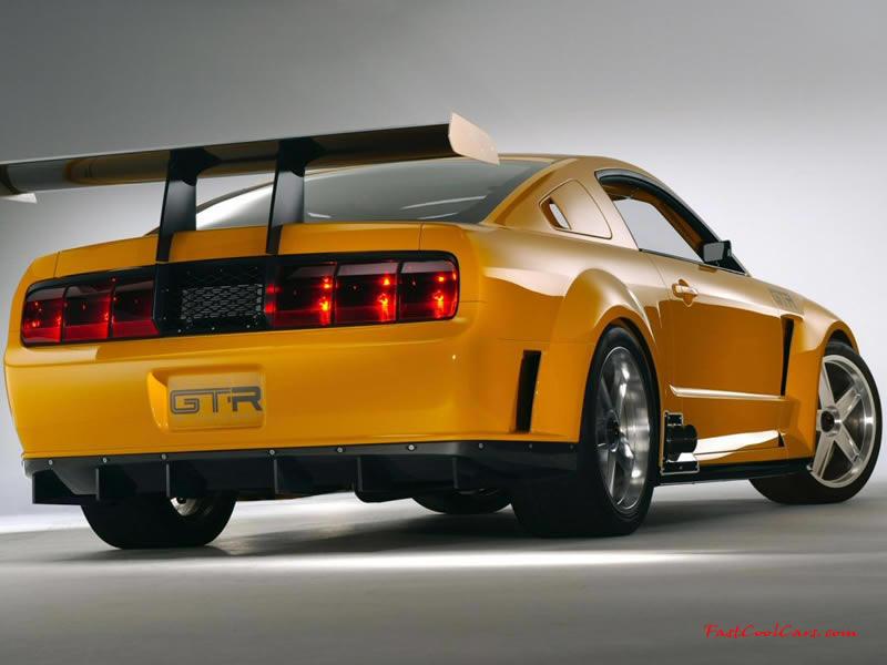mustang gt wallpaper. GTR Mustang right
