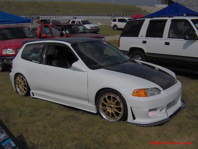 Nopi Nationals - Motorsports Supershow 2005, carbon fiber hood, Low Rider.