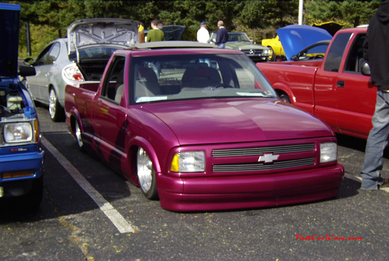 Lowrider truck on fast cool cars